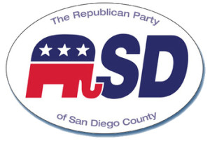 Republican Party of San Diego logo