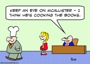cooking the books comic strip