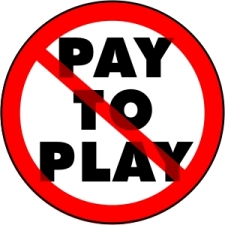 no pay to play logo